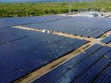 Nhà máy điện mặt trời Nhị Hạ tại Ninh Thuận (Nguồn: Bitexco)
