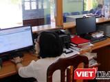 Nhiều xã, phường, quận, huyện phản ánh hệ thống phần mềm DVCTT gặp nhiều lỗi, ảnh hưởng đến hiệu quả làm việc - Ảnh: Q.V