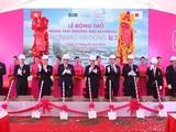 Lễ Động thổ AEON Mall Hà Đông vừa diễn ra vào ngày 11/3 vừa qua - Ảnh: An ninh Thủ đô.