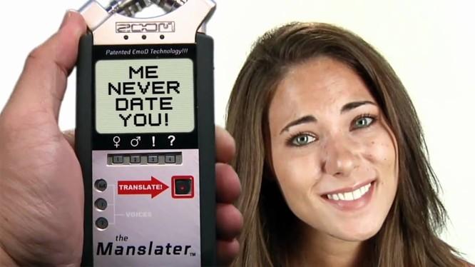 Video thú vị: Máy phiên dịch lời nói của phụ nữ