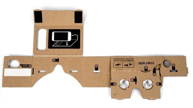 Trải nghiệm thú vị với kính thực tế ảo giá rẻ của Google