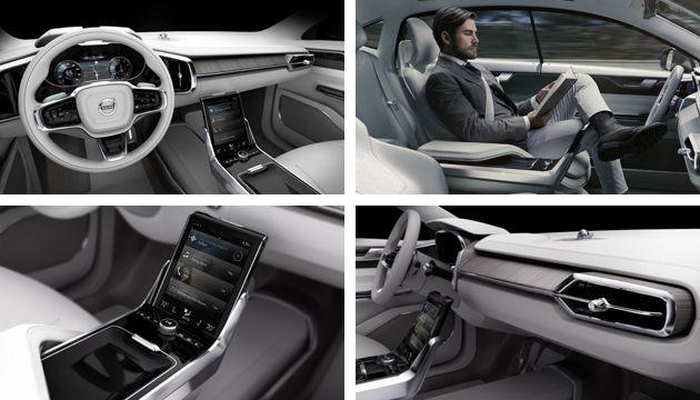 Volvo Concept 26: Nội thất siêu tiện nghi