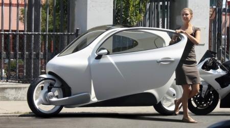 LIT Motors C1 - Xe ô tô 2 bánh