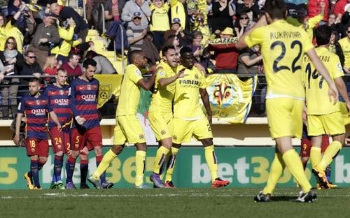 Barca rơi chiến thắng
