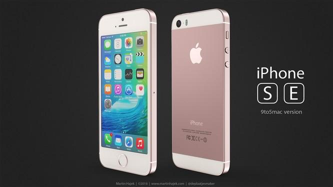Dung lượng pin iPhone SE cao hơn iPhone 5S