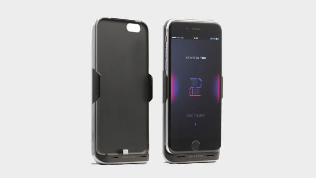 Krimston TWO - case tích hợp SIM phụ, có 3G, kiêm pin dự phòng dành cho iPhone