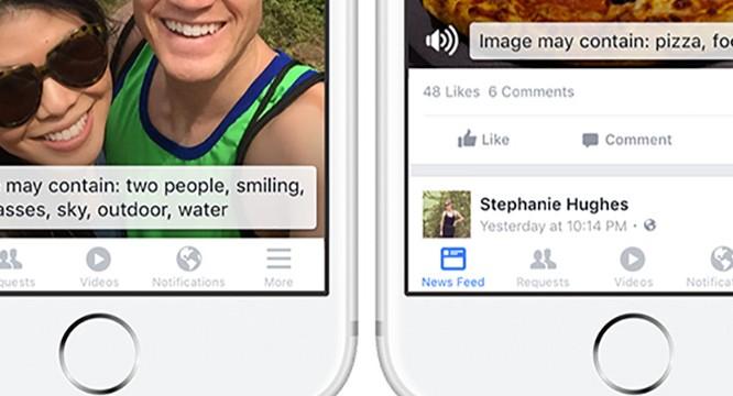 Facebook bắt đầu áp dụng tính năng mô tả hình ảnh cho người khiếm thị, đã có trên iOS