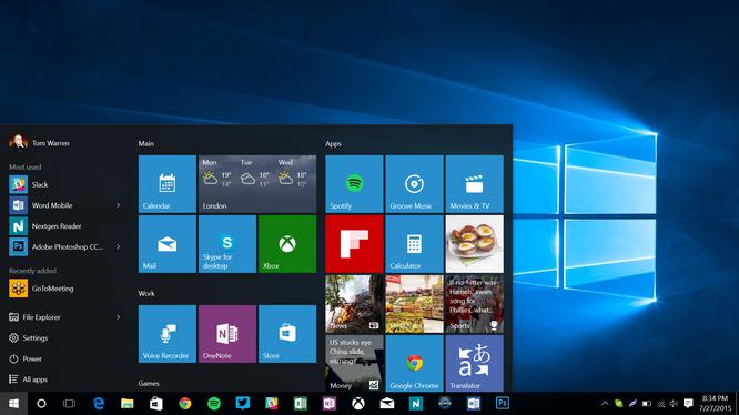 Windows 10 Mobile chính thức hỗ trợ tablet màn hình 9 inch