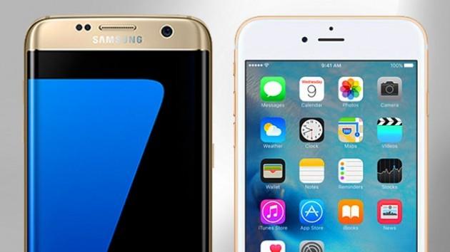 iPhone 6S đọ sức bền với Galaxy S7