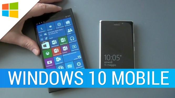 Windows 10 Mobile rục rịch hỗ trợ streaming trò chơi từ Xbox One