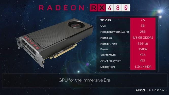 AMD kỳ vọng Radeon RX 480 mở rộng trải nghiệm VR