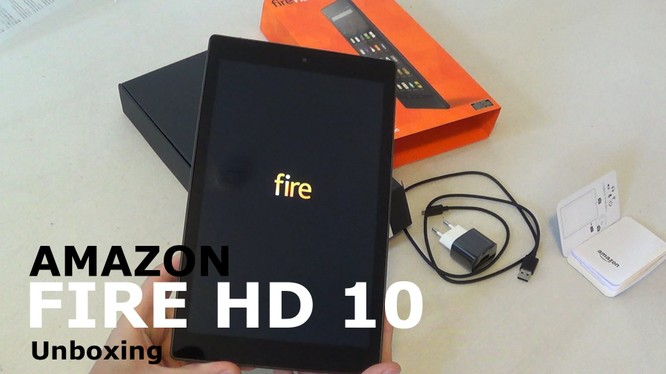 Amazon Fire HD 10 sang hơn với vỏ nhôm nguyên khối