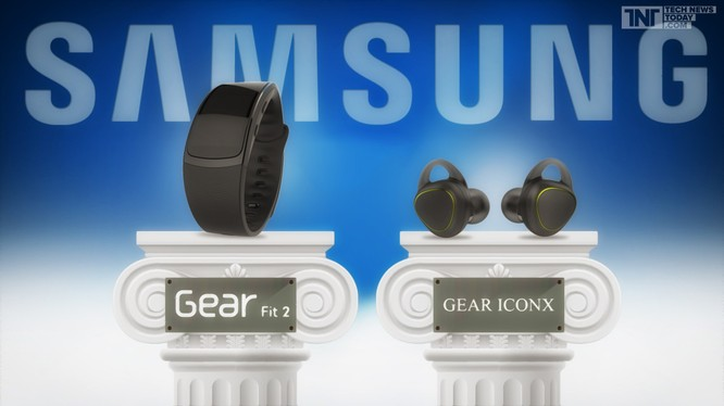 Samsung ra mắt tai nghe thể thao Gear IconX