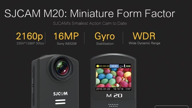 Camera thể thao SJCAM M20 giá 2,99 triệu đồng