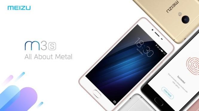 Meizu ra mắt smartphone giá rẻ M3S