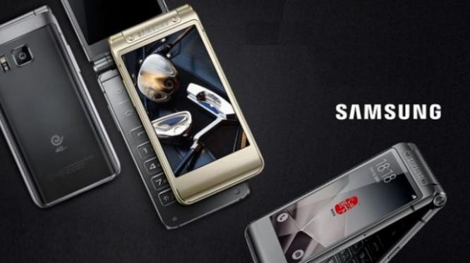 Samsung sắp tung ra smartphone nắp gập