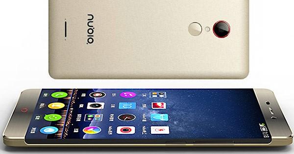Smartphone không viền ZTE Nubia Z11 lộ diện