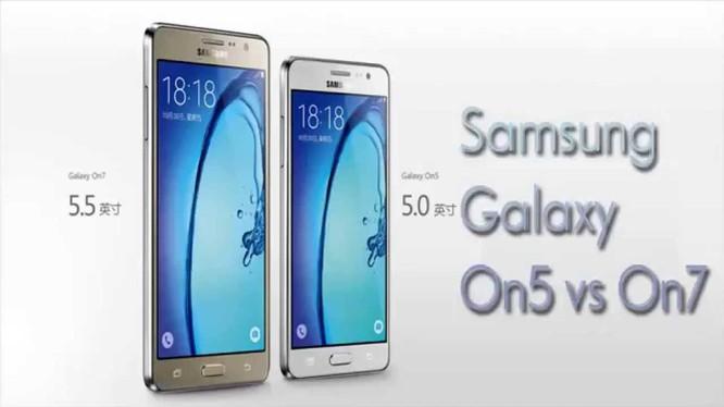 Samsung Galaxy On7 2016 lộ cấu hình chi tiết