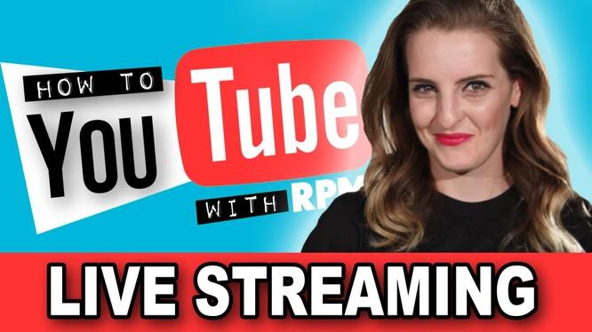 YouTube sắp tung ra nút truyền video trực tiếp từ điện thoại