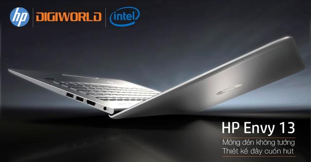 Đánh giá laptop HP Envy 13-d019TU