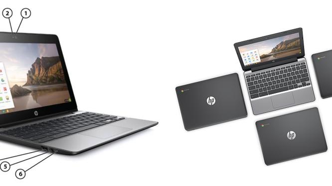HP Chromebook 11 G5 ra mắt, pin hơn 12 tiếng