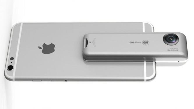 Insta360 Nano - phụ kiện giúp iPhone ghi hình 360 độ