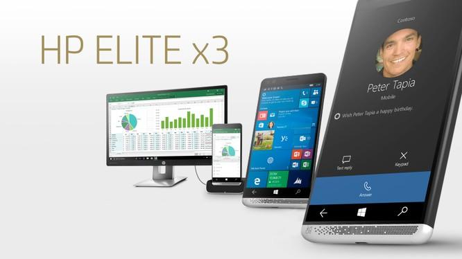 Rò rỉ giá bán smartphone cao cấp HP Elite x3