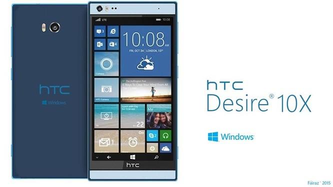 Rộ tin HTC sắp ra mắt điện thoại Desire 10