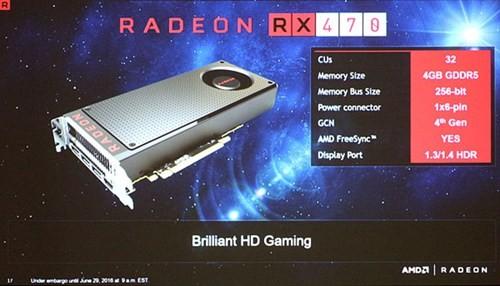 Hé lộ card đồ họa phổ thông AMD RX 470 và RX 460