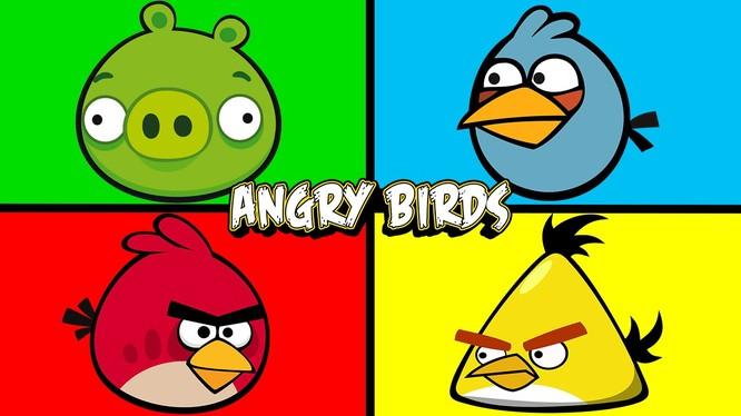 Angry Birds quay lưng với thiết bị Windows