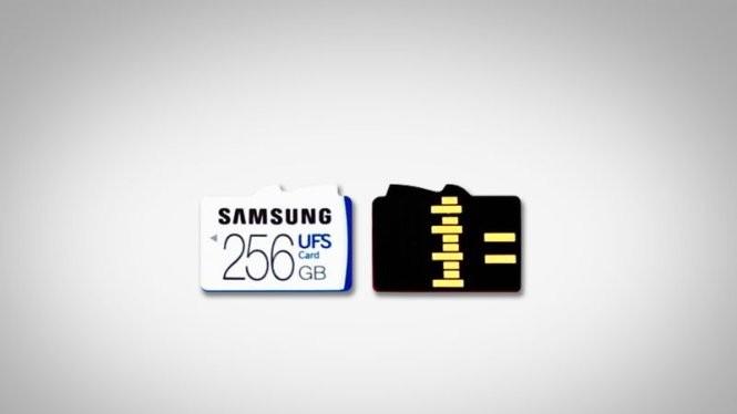 Thẻ nhớ UFS có tốc độ đọc tuần tự lên đến 530 MB/s, nhanh gấp 5 lần thẻ nhớ SD tốt nhất hiện nay