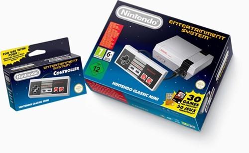 Nintendo NES tái xuất cùng 30 tựa game tên tuổi