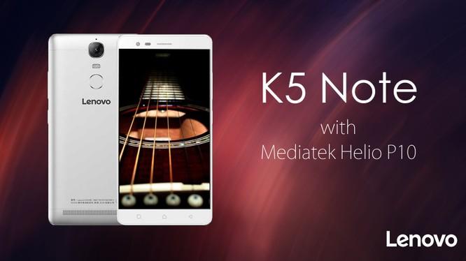 Lenovo K5 Note sắp có thêm bản RAM 4GB