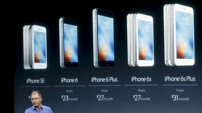 iPhone lao dốc, Apple giảm gần 15% doanh thu