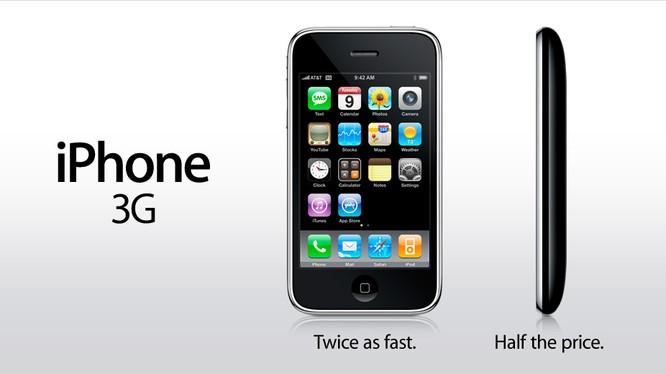 Lịch sử iPhone: Tượng đài iPhone 3G