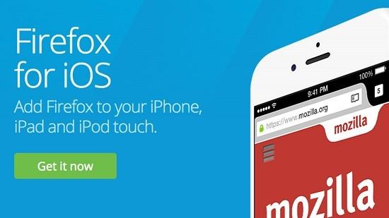 Firefox cho iOS đã thông minh hơn