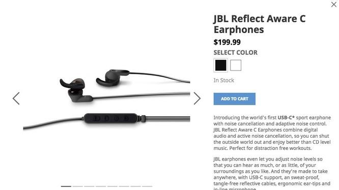 Tai nghe JBL kết nối USB Type-C lên kệ