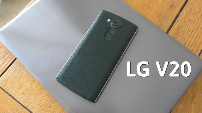 LG: smartphone V20 ra mắt ngày 6/9