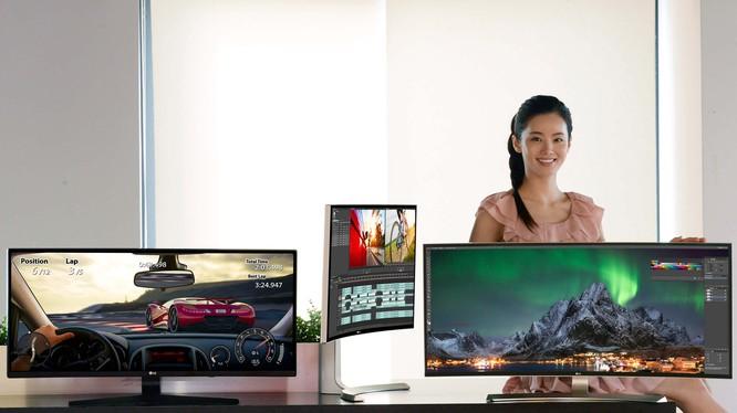 Thêm lựa chọn màn hình cong chuyên game từ LG