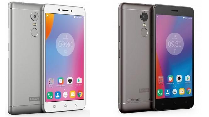 Lenovo ra mắt bộ 3 smartphone K6 mới