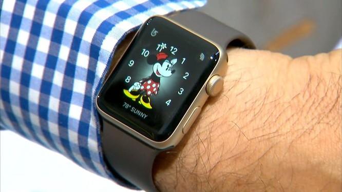 Apple Watch series 2 còn được tích hợp bộ vi xử lý mới có tốc độ nhanh hơn.