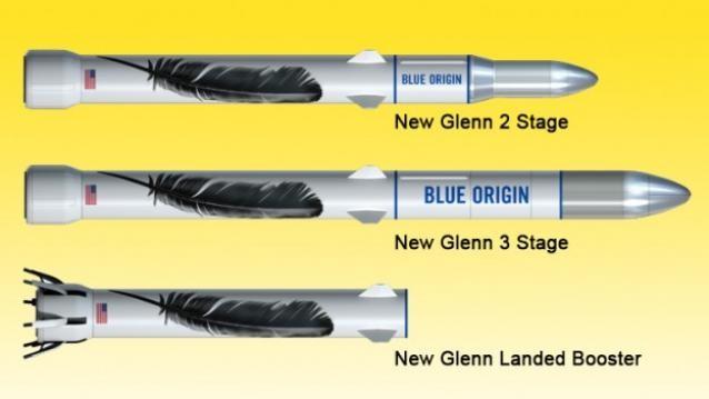 Jeff Bezos đặt tên cho tên lửa mới là New Glenn