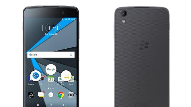 Điện thoại BlackBerry DTEK60 lộ cấu hình