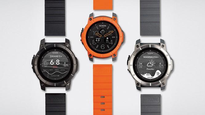 Thêm lựa chọn smartwatch thể thao từ Nixon