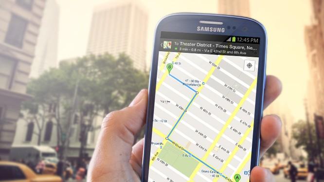 Google Maps hỗ trợ khẩu lệnh OK Google