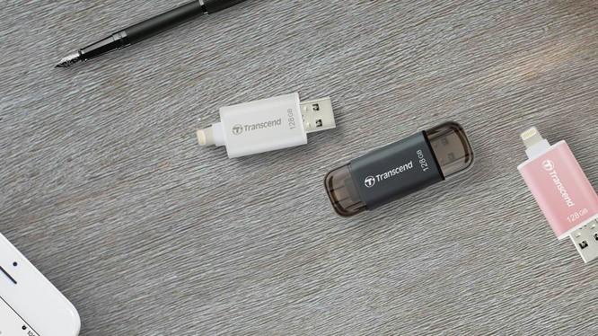 Transcend hoàn chỉnh dòng sản phẩm Lightning cho thiết bị Apple