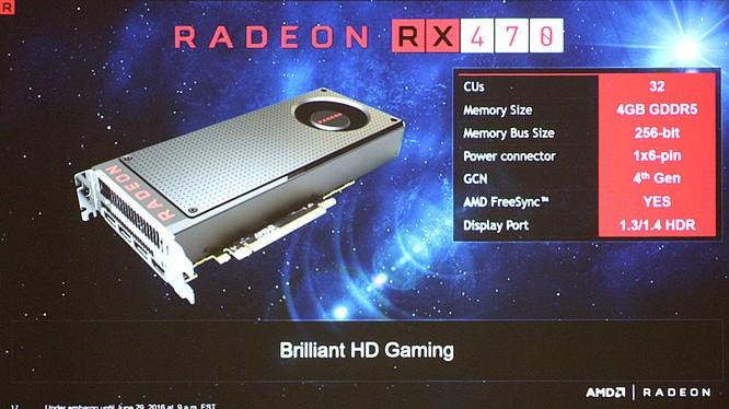 GeForce GTX 1050 Ti sẽ gặp khó bởi Radeon RX 470?