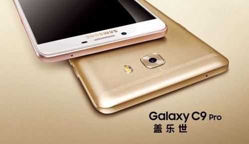 Samsung Galaxy C9 Pro: Pin khủng, RAM 6GB