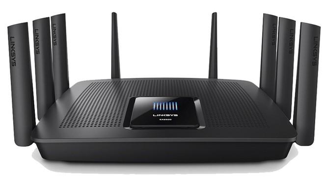 Linksys giới thiệu Wi-Fi Router 8 anten, hỗ trợ 3 băng tần