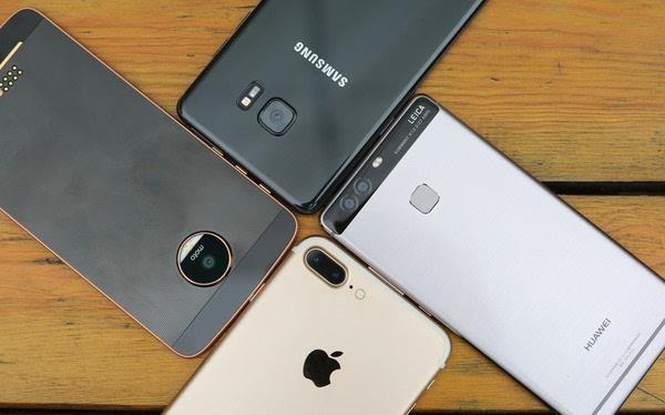 Sau khủng hoảng Note 7, Samsung vẫn dẫn đầu về smartphone